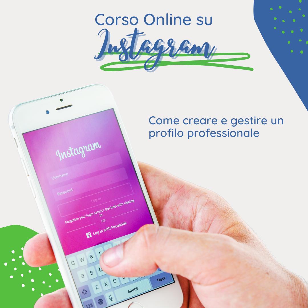 Corso online Instagram. Anzio Roma Nettuno Milano